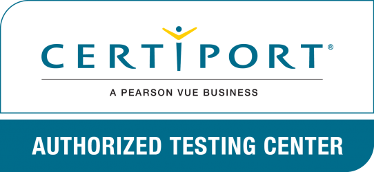 Certiport Authorized Testing Center badge