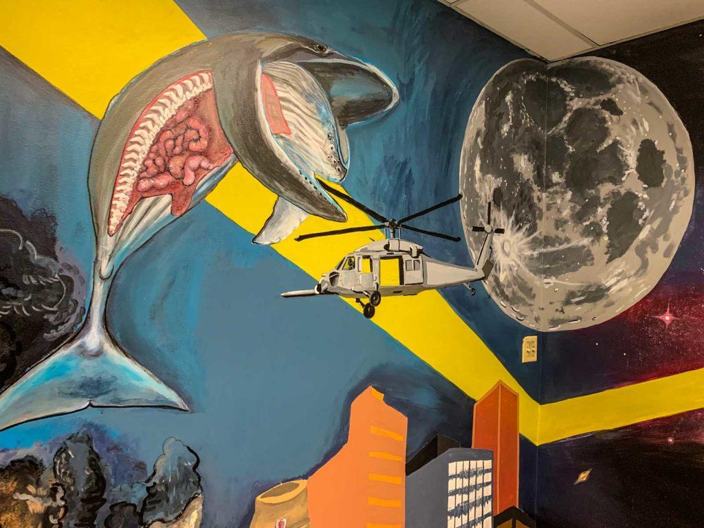 EWU Science Building Mural